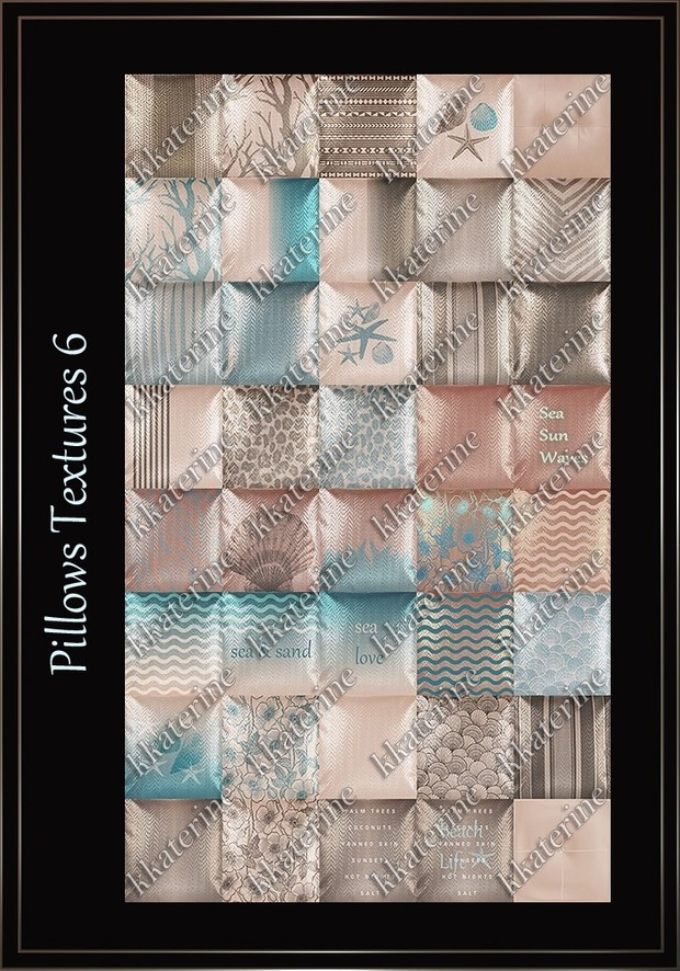 Pillows Textures 6 ~ 40 Textures