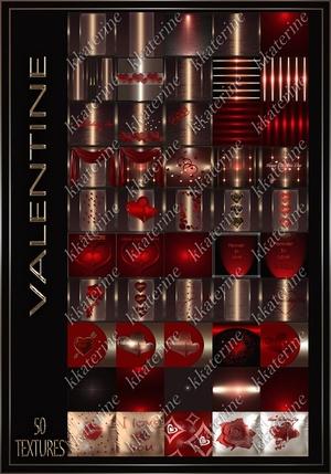 VALENTINE 50 Textures 256x256