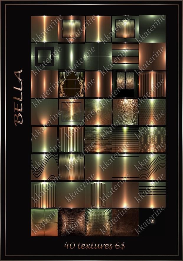 BELLA _40 textures 256x256