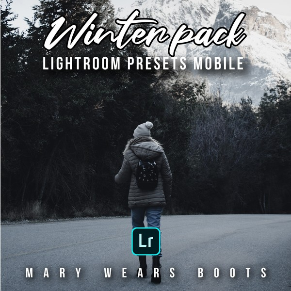 3 Presets Lightroom Mobile: Winter Pack By Mary Wears Boots