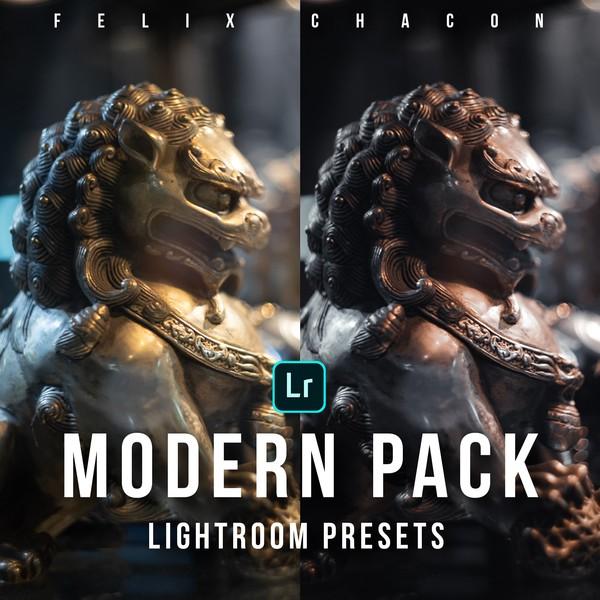 5 Presets para Adobe Lightroom Desktop: Pack MODERN By Felix Chacon