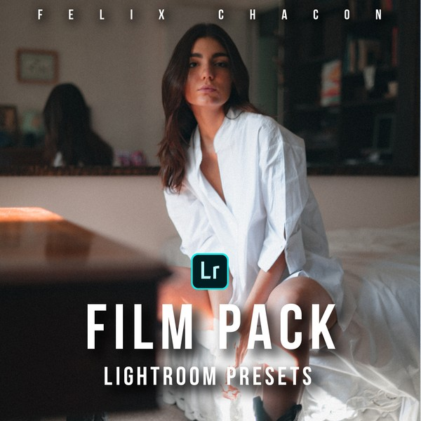 5  Presets para Adobe Lightroom Desktop: Pack FILMS By Felix Chacon