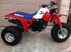 Honda ATC 350X 1985 1986 ATV Service Repair Manual