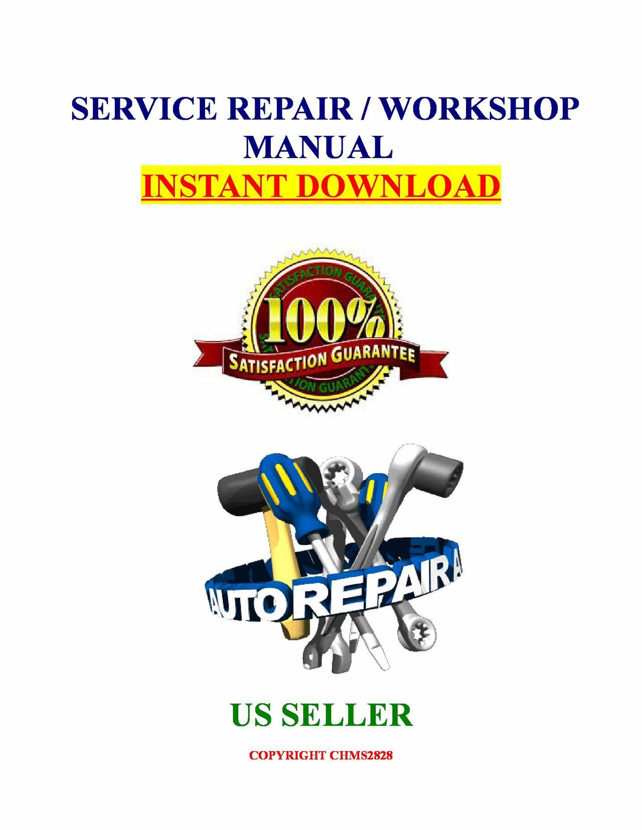 Ford F100 F150 F250 F350 1980 Thru 1995 Repair Manual