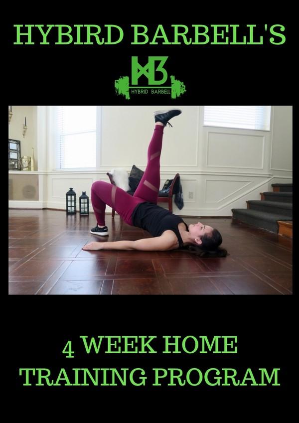 Hybrid Barbell 4 week Home Training Program