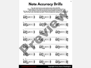 Note Accuracy Drills