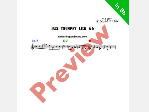 Marquis Hill Jazz Lick Analysis | TBT Masterclass #4 PDF
