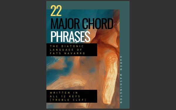 The Diatonic Language of Fats Navarro: 22 Major Chord Phrases