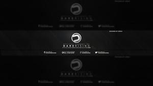 DareRising YouTube Banner (PSD)
