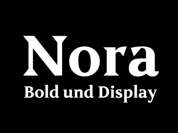Nora – Bold & Display