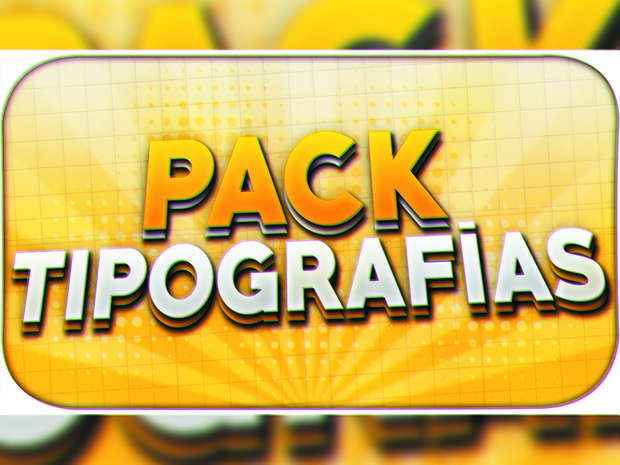 PACK TIPOGRAFÍAS|By:ShaphiRa