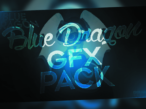 BLUE DRAGON GFX PACK | ShaphiRaDesigner