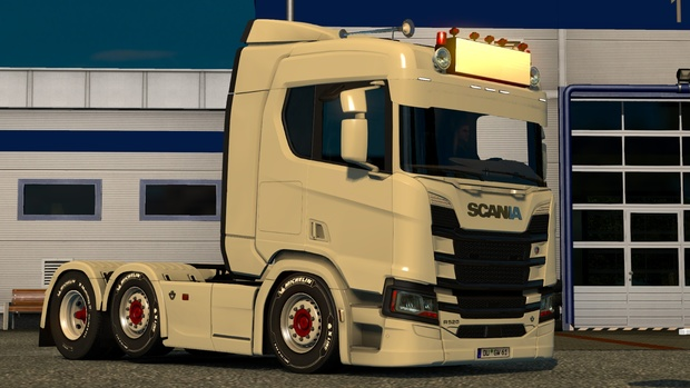 Big Sunshield And RoofGrill For Scania R & S