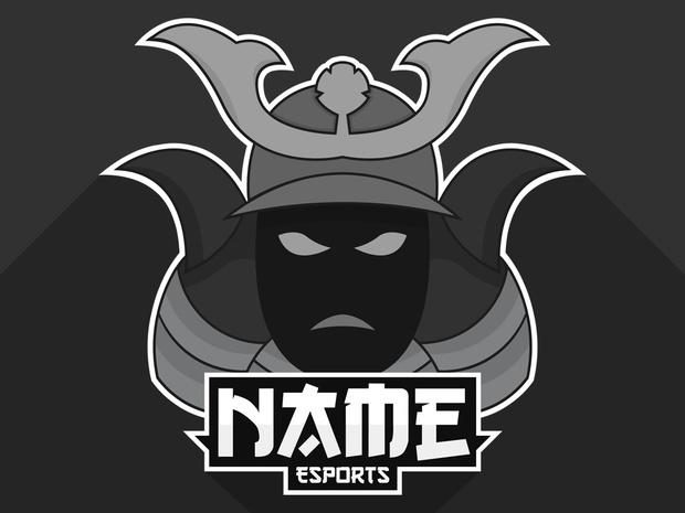 Bkdg Samurai Logo Esport Logo Butkedesign