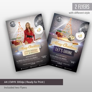 Merry Christmas 2015 - Flyer PSD Template