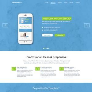 Dreamworld - Creative PSD Landing Page