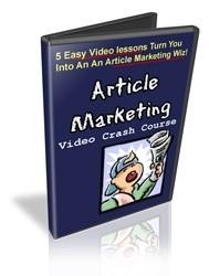 Article Marketing Crash Course