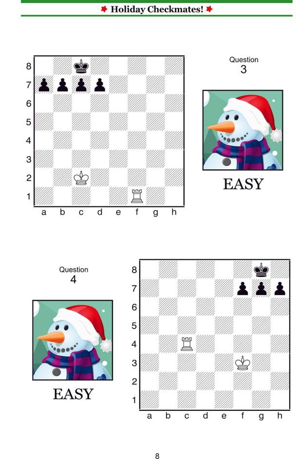 Holiday Checkmates! (Enchanted Chess) (Volume 7)