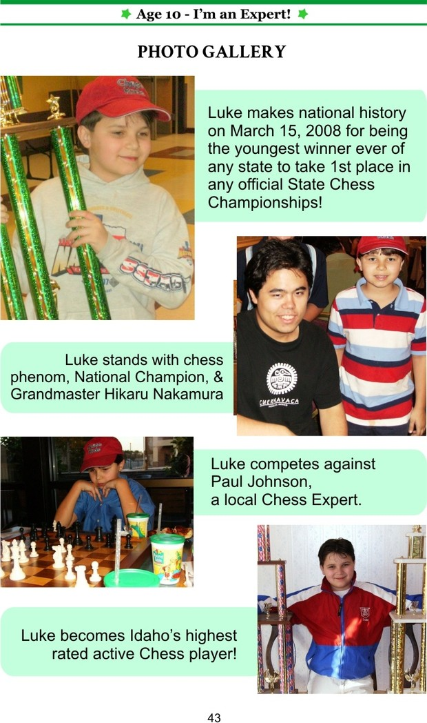 AGE 10: I'm an Expert (Enchanted Chess) (Volume 15)