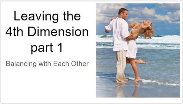 Leaving the 4th Dimension Part 1, 2 & 3