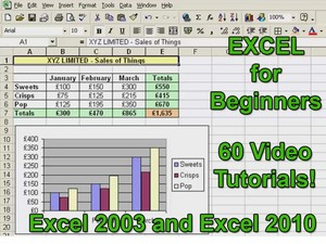 Microsoft Excel Tutorials for Beginners