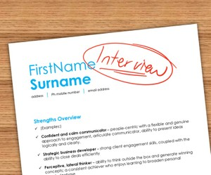 6-Figure CV: Template & Cheat-Sheet