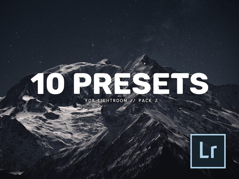 10 Lightroom presets pack 2 JESUSANCE - Jesusance Store