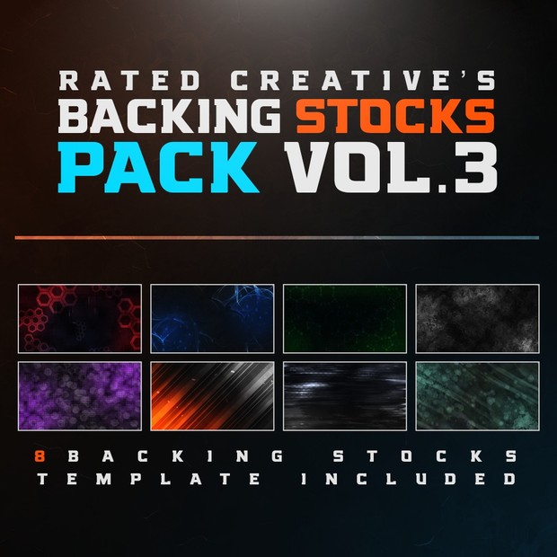 Backing Stocks 3.0 By Rated Creative