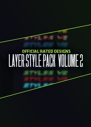 Rated Designs Layer Styles Volume 2