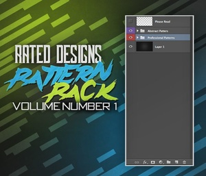 Rated Designs Pattern Pack Volume 1