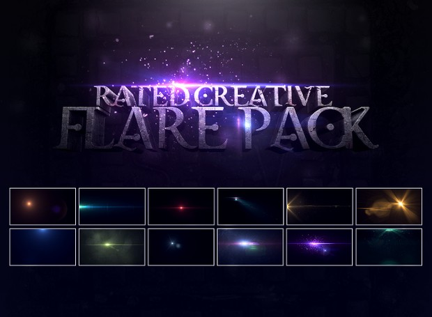 Rated's Optical Flare Pack