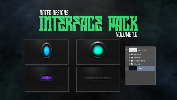 Interface Pack Volume 1.0 By Rated