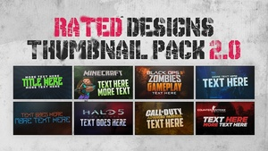 Thumbnail Pack 2.0 by Rated