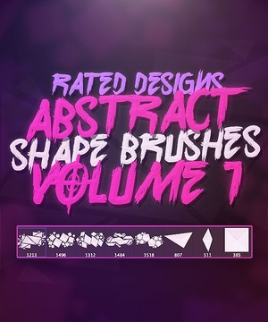 Abstract Shape Brushes Volume 1 By Rated
