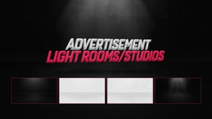 Advertisement Display Rooms/Studios By Rated