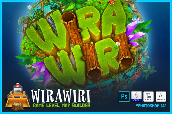 WIRAWIRI - Game Level Map Builder