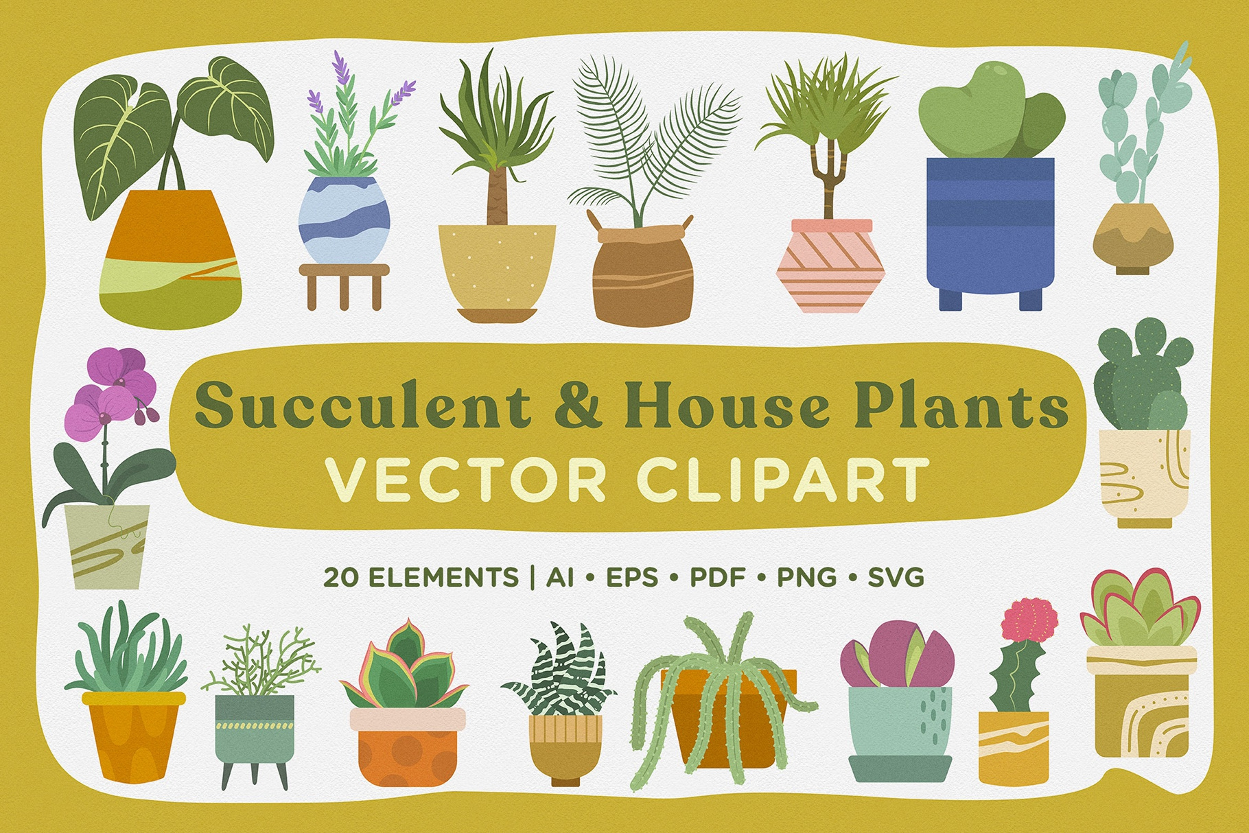 Hanging House Plants And Flowers In Pots. Royalty Free Cliparts, Vectors,  And Stock Illustration. Image 98517429.