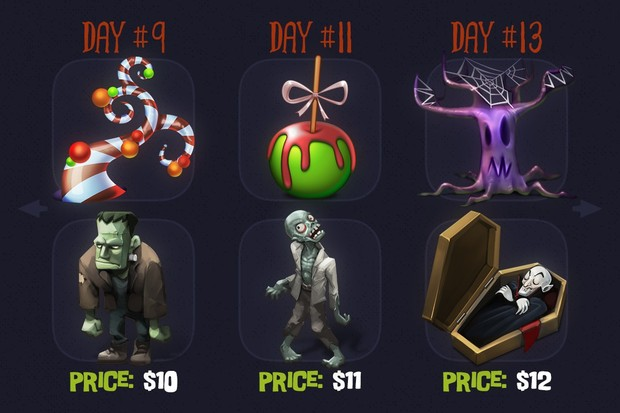 Qliwon: Halloween Iconic Set (Completed Version)