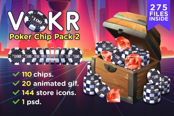 VOKR - Poker Chip Pack 2