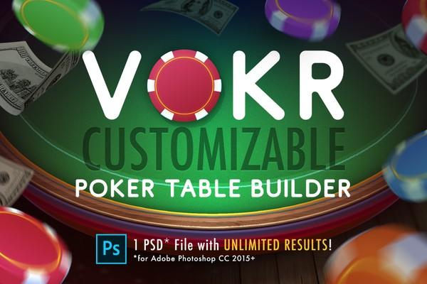 VOKR - Poker Table Builder