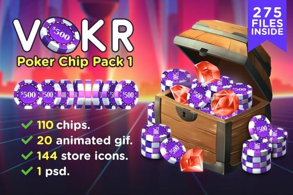 VOKR - Poker Chip Pack 1
