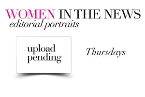 WOMEN IN THE NEWS:  Editorial Portraits  01