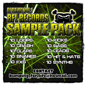 DJ DAVID BFL SAMPLE PACK VOL. 1 + FREE EXCLUSIVE TRACK