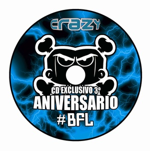 CD 3º ANIVERSARIO BUMPING FOR LIFE RECORDS