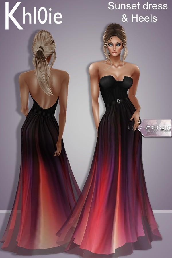 Sunest dress n heels