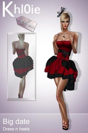 big date dress n heels
