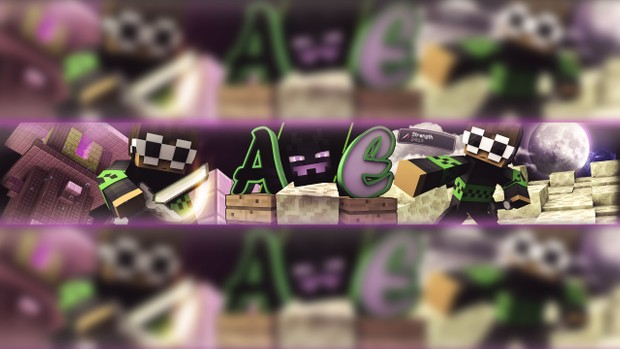 MINECRAFT YOUTUBE BANNER!