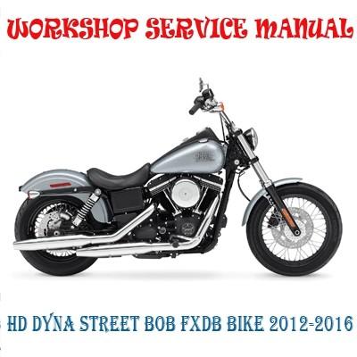 harley davidson dyna street bob fxdb bike 2012-2016 wo - marvelstar2010  sellfy