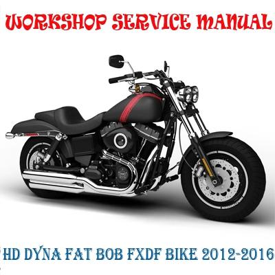 Apparel & Merchandise Motorcycle Merchandise FXDF Fat Bob Service ...