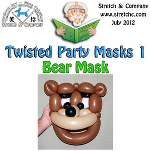 Bear Mask from Twisted Party Masks 3 by Stretch the Balloon Dude